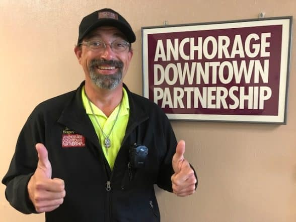 Michael Horvatin, Anchorage Downtown Partnership Safety Supervisor